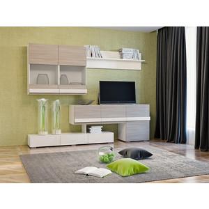 Шкаф комбинированный Сильва НМ 013.09 Лофт-2 ясень шимо/белый