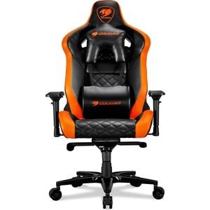 лучшая цена Кресло компьютерное COUGAR Armor titan black-orange