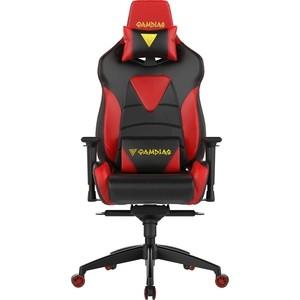Кресло компьютерное Gamdias Hercules M1 black-red air RGB кресло компьютерное gamdias ulisses mf1 black yellow