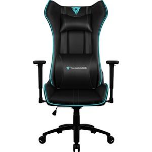 Кресло компьютерное ThunderX3 UC5 black-cyan air кресло компьютерное thunderx3 uc5 b [black] air с подсветкой 7 цветов