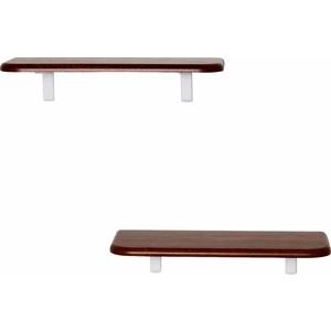 цена Полка Калифорния мебель Комплект Полок Сочи 450 орех онлайн в 2017 году