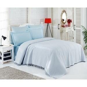 Набор для спальни Do and Co евро + 4 наволочки 50x70/70x70 ранфорс (9848 голубой) комплект белья verossa stone евро наволочки 50x70 и 70x70