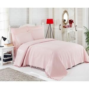 Набор для спальни Do and Co евро + 4 наволочки 50x70/70x70 ранфорс (9848 розовый) комплект белья verossa stone евро наволочки 50x70 и 70x70