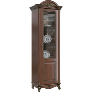 Шкаф 1-дверный правый Мэри Да Винчи ГД-02 орех