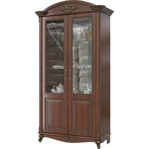 Шкаф 2-х дверный Мэри Да Винчи ГД-04 орех