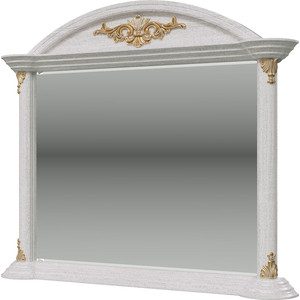 Зеркало Мэри Да Винчи ГД-07 патина белый