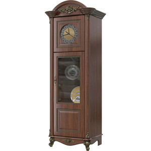Шкаф с часами Мэри Да Винчи ГД-08 орех