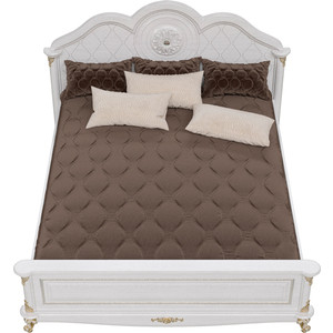 Кровать Мэри Да Винчи СД-08 патина белый 160 bohemia ivele crystal люстра 1611 5 160 fp патина