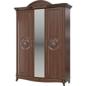 Шкаф 3-х дверный Мэри Да Винчи СД-09 орех