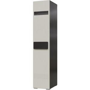 Шкаф 1-дверный универсальный Мэри Престиж СП-01 венге цаво/жемчужный лён шкаф 1дв прав 450х315х960мм заказ дуб родди j лён