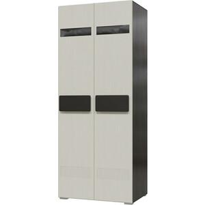 Шкаф 1-дверный универсальный Мэри Престиж СП-02 венге цаво/жемчужный лён
