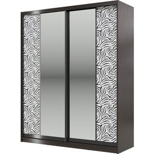 Шкаф-купе Мэри Сан-Ремо СР-01-1800 венге цаво/двери зеркало трия зеркальный шкаф купе в спальню стэн венге цаво каналы дуба 16493 см 140 02 002