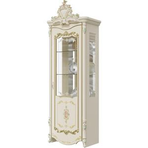 Шкаф 1-дверный правый Мэри Шейх ГШ-02 слоновая кость