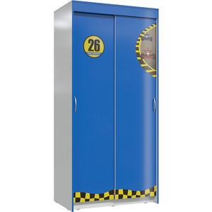 Шкаф Мэри Формула 2 синий/светло-серый купе обогреватель supra tvs 220f 2 светло серый