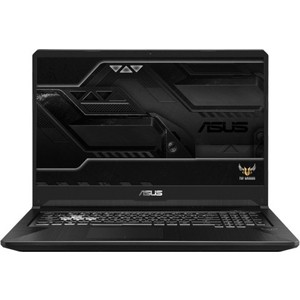 Ноутбук Asus ROG FX705GM i7 8750H/8Gb/1Tb + 256Gb SSD/No ODD/17.3 FHD/GeForce GTX 1060 6Gb/ Win10 (90NR0121-M04970) ноутбук alienware m15 5522 core i7 8750h 8gb 1tb 128gb ssd nv gtx1060 6gb 15 6 fullhd win10 red