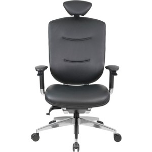 Кресло GTChair GT-07-38E GT-15 marrit (polished, K3) black leather