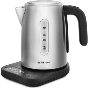 Чайник электрический KITFORT KT-662 чайник электрический kitfort kt 609 серебристый черный