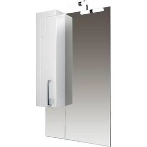 цена Зеркало-шкаф Triton Диана 60 белый L (Н0000098504) онлайн в 2017 году