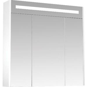 Зеркальный шкаф Triton Диана 80 белый (Щ0000008588) полка стеклянная triton диана 80 н0000010341