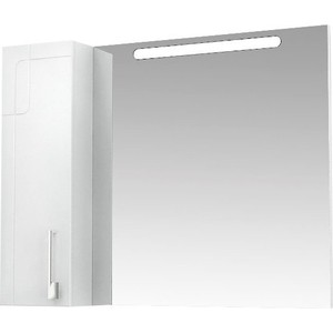 Зеркало-шкаф Triton Диана 100 белый L (Щ0000006602)