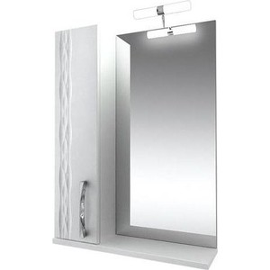 Зеркало-шкаф Triton Кристи 55 белый L (Н0000099465)