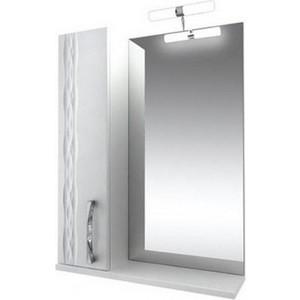 Зеркало-шкаф Triton Кристи 70 белый L (Н0000099473)