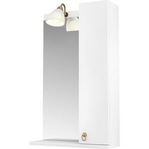 Зеркало-шкаф Triton Реймс 50 белый R (Щ0000012167)