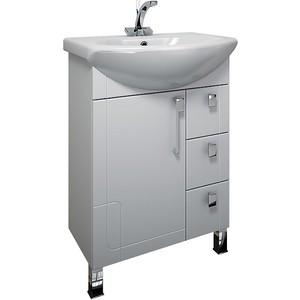 Тумба с раковиной Triton Диана 55 белый R (Н0000098476, 1WH110186) triton мебель для ванной triton диана 70 r