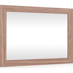 Зеркало подвесное в раме МДФ Мебельный двор С-МД-Зеркало ясень шимо темный