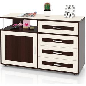 Комод Мебельный двор С-МД-К11 дуб/венге