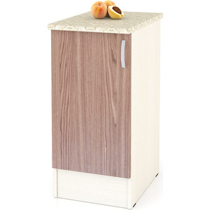 Стол Мебельный двор Мери ШН400 дуб/ясень шимо темный цена