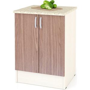 Стол Мебельный двор Мери ШН600 дуб/ясень шимо темный цена