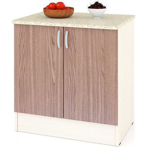 Стол Мебельный двор Мери ШН800 дуб/ясень шимо темный цена