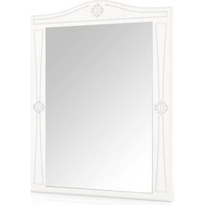 лучшая цена Зеркало навесное Мебельный двор Онега белая ЗН-1 белый