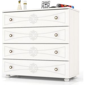 Комод Мебельный двор Онега белая К-15 белый комод первый мебельный комодино сиена