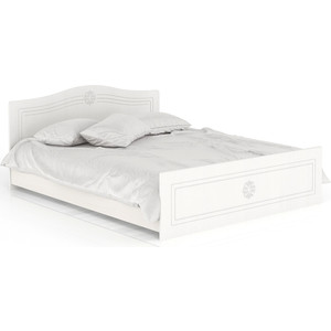 Кровать Мебельный двор Онега белая КР-1600 белый