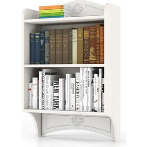 Полка книжная с карнизом Мебельный двор Онега белая ПК-1 белый