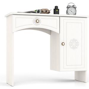 Туалетный столик Мебельный двор Онега белая ТС-1 белый leander набор тарелок десертных соната тонкое золото 19 см 6 шт 07160319 1139 leander