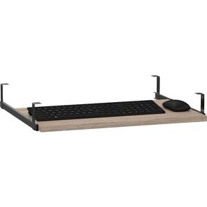 Панель под клавиатуру выкатная Мебельный двор С-МД-4-03 ясень шимо светлый