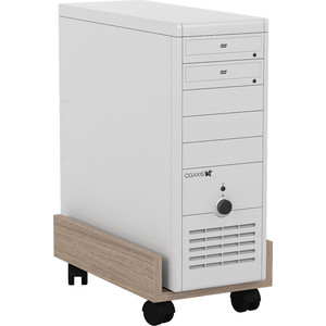 Подставка под системный блок Мебельный двор С-МД-4-02 ясень шимо светлый фото