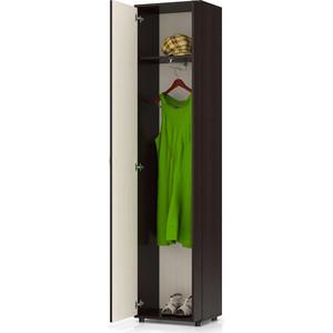 Шкаф бельевой Мебельный двор П5 венге/дуб