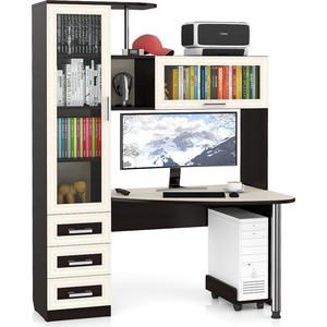 Стол компьютерный Мебельный двор С-Бонус-2 венге/дуб