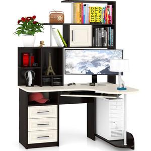 Стол компьютерный Мебельный двор С-Варяг-3 венге/дуб