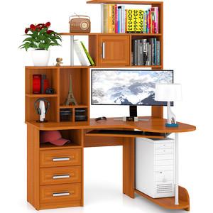 Стол компьютерный Мебельный двор С-Варяг-3 вишня