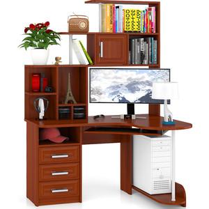 Стол компьютерный Мебельный двор С-Варяг-3 яблоня