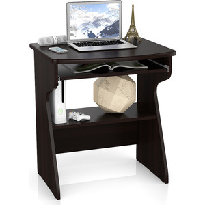 цена Стол компьютерный Мебельный двор С-МД-СК1 венге онлайн в 2017 году