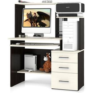 Стол компьютерный Мебельный двор С-МД-СК3 венге/дуб