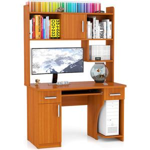 Стол компьютерный Мебельный двор С-МД-СК7 вишня