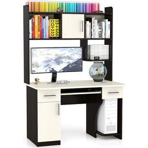 Стол компьютерный Мебельный двор С-МД-СК7 дуб/венге