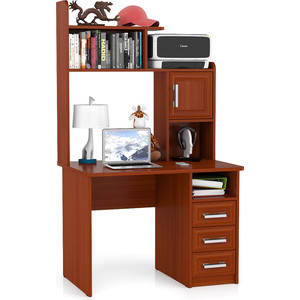 Стол компьютерный Мебельный двор С-МД-СК8 яблоня